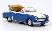 Wartburg 312 A Cabrio blue white 1958