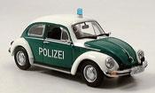 Volkswagen Coccinelle 1303 police brownschweig 1972