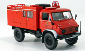 Mercedes Unimog   404S  pompier TLF 8 18 Minichamps