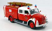 Miniature Magirus TLF 16   Merkur pompier Dortmund