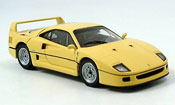 Ferrari F40   gelb Kyosho