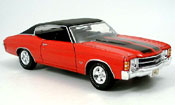 Chevrolet Chevelle 1971 SS454 red black