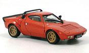 Lancia Stratos HF  hf rouge 1974 DeAgostini