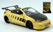Peugeot 206 CC  parougeech jaune noire Norev