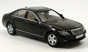 Mercedes Classe S miniature S 500 SWB noire 2004
