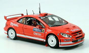 Peugeot 307 WRC  gronholm rally 2004 Vitesse