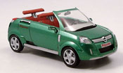 Opel Frogster miniature verte autosalon genf 2001