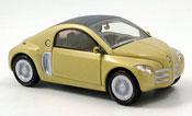 Renault Fiftie miniature jaune concept car 1996