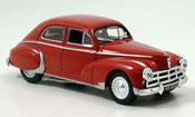 Peugeot 203 Berline  darl mat  rouge 1953 Norev 1/43