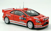 Peugeot 307 WRC  no.7 gronholm rallye deutschland 2005 Autoart