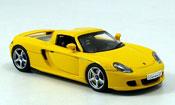 Porsche Carrera GT   jaune Autoart 1/43