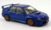 Subaru Impreza WRX miniature STI bleu 2006