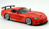 Dodge Viper Competition Competition Car Plain Body rosso 2004
