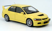 Mitsubishi Lancer Evolution IX gsr yellow