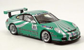 Porsche 997 GT3 Cup Racing No.89 green