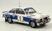 Miniature Rallye Ford Escort MK2 MKIIWorks Team Rally Safari 1977