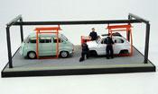 Fiat 600 Diorama Fertigungshalle 1964