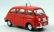 Fiat 600 D Mulitpla pompier