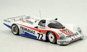 Porsche 962 1987 No.72 Primagazzweiter Le Mans