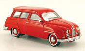 Saab 95 miniature rouge 14