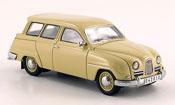 Saab 95 miniature beige 14