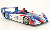 Audi R8 Le Mans  no.4 team oreca playstation 2005 Spark