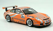Porsche 997 GT3 Cup  Racing No.88 orange Minichamps 1/43