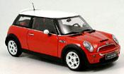 Mini Cooper S rosso bianco