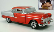 Chevrolet Bel Air 1955 red/gray