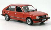Opel Kadett D  rouge 1979 1984 Schuco