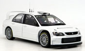 Mitsubishi Lancer Evolution IX wrc white plain body version 2005
