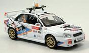 Miniature Rallye du Portugal Subaru Impreza WRX sainz moya portugal 2005