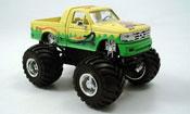 Ford F 150 miniature Monster Truck jaune verte 1995