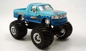 Ford F 150 miniature Monster Truck bleu 1995