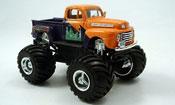 Ford F100 miniature Monster Truck orange 1948