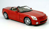 Cadillac XLR roadster red