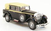 Miniature Isotta 8A   Fraschini Tipo 8 noire 1930