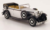 Miniature Maybach V12  DS8   grise metallisee 1930