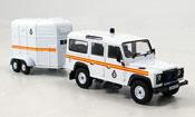 Land Rover Defender miniature Royal Parks Const. police England