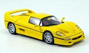 Miniature Ferrari F50   jaune
