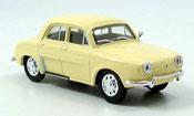 Renault Dauphine miniature jaune