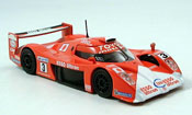 Toyota GT One miniature no.3 rouge