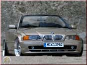 Bmw tuning 328 E46 ci convertible champagne wheels 19 inches bbs