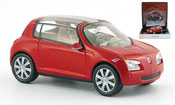 Miniature Renault Zoe   rouge autosalon genf 2005