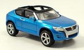 Volkswagen Concept a genfer autoschau blue 2006