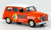 Renault Colorale miniature service orange blanche