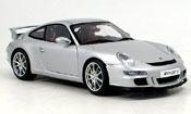 Porsche 997 GT3  grise Autoart 1/18