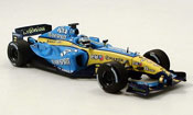 Renault F1 f1 team r 25 showcar no.6 g. fisica 2005