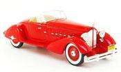 Le Baron V12 Speedster rouge 1934