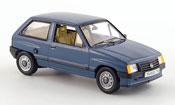 Miniature Opel Corsa   a bleu